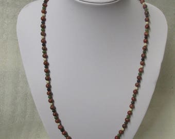 Marble Of Ireland(4 Province) Beaded Necklace