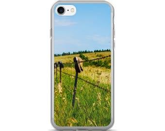 iPhone 7/7 Plus Case - Red Silo Original Art - Boot Fence H