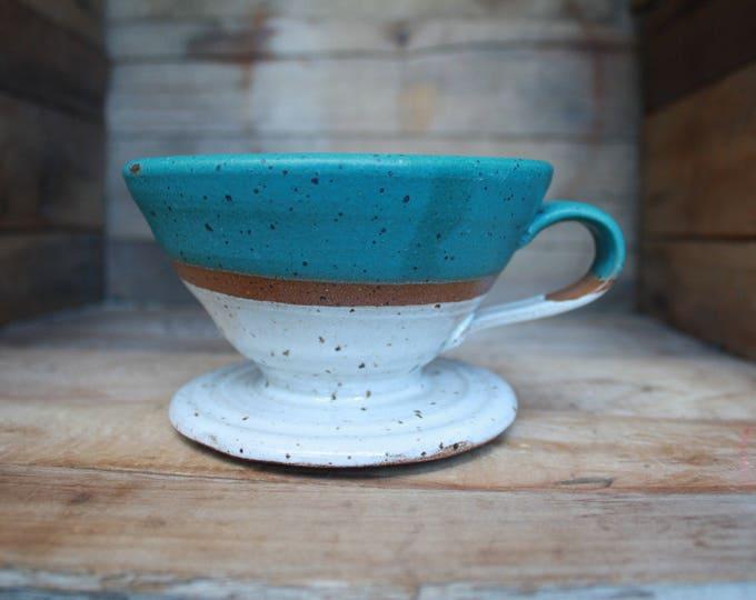 Pour Over - V60 - Handmade  - Ceramics & Pottery - KJ Pottery