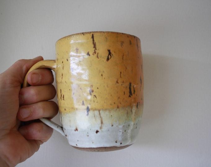 Coffee Mug - Ceramics & Pottery - Mustard Yellow - KJ Pottery