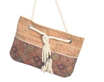 Clutch, cork bag, cork bag, cork clutch, vegan bag, Korkstoff, cork bag, summer bag, vegan, vegan handbag, handbag