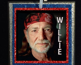 WILLIE NELSON Ornament - Free Shipping!