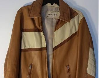 Vintage Italian Moto Jacket S/M