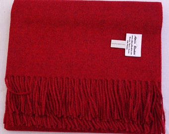 100% Baby Alpaca Throw Blankets - Solid Color III Broad Selection, No Synthetics or Chemical Dyes