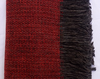 Alpaca and Wool Throw Blanket, A100 is Luxurious, Soft and Handmade – No Synthetics or Chemical Dyes