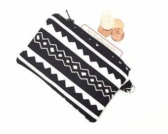 Small coin purse, Change Purse, small pouch for purse, small change purse, small coin purse, zip coin purse, mini coin purse,