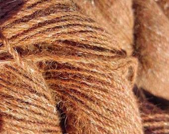 Alpaca Yarn Bundle- Brown