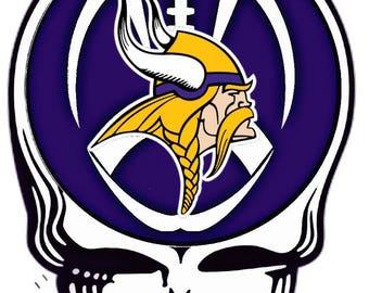Grateful Dead Minnesota Vikings Shirt