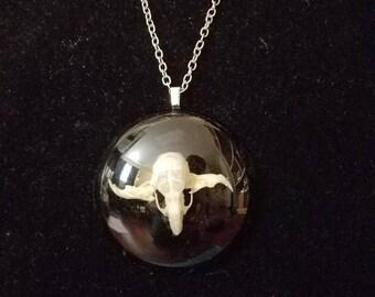 Rat Skull Necklace