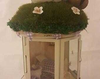 Fairy gardens lantern.