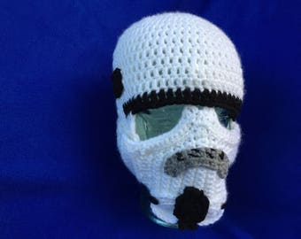 Star Wars Storm Trooper Balaclava-READY TO SHIP