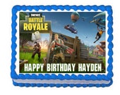 Fortnite party edible cake image cake topper frosting sheet***
