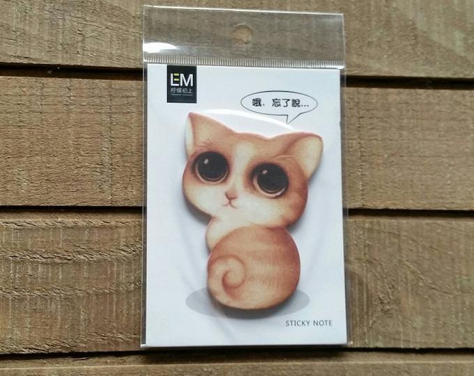 Cat Sticky Notes