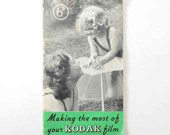 Vintage Kodak - Making the most of your KODAK film Booklet