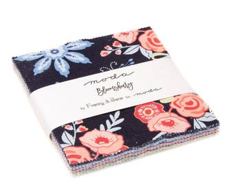 Bloomsbury Charm Pack by Franny & Jane for Moda Fabrics SKU 47510PP