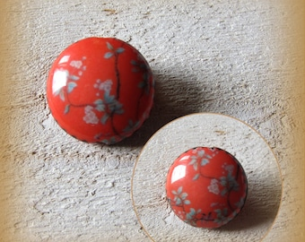 Big porcelain bead