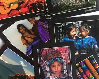 Set of 10 Guatemalan Postcards