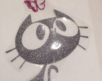 Fusible kitten and Butterfly pattern