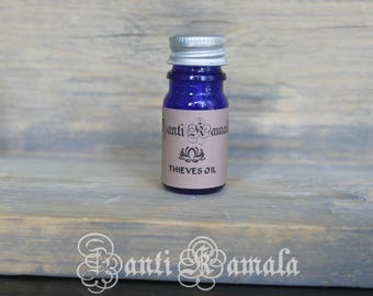 Thieves oil/aromatherapy oil/natural oils/healing oils/essential oils/relaxation oil/gift for him/gift for her
