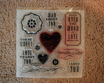 Close to my Heart stamp set S1112 Mad About You