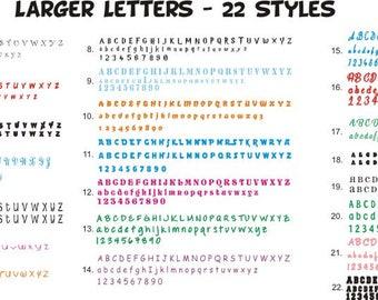 Vinyl Letters, Single Vinyl Letter, Vinyl Decal, Number sticker, Vinyl letters, Vinyl Lettering, Initials, Wall Letters