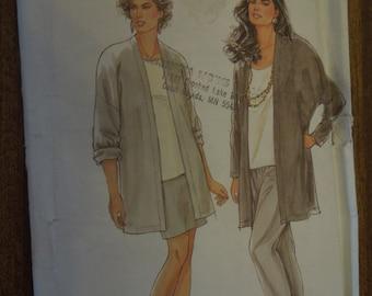 Simplicity 7406, sizes 8-20, misses, womens, jacket, pants, skirt, UNCUT sewing pattern