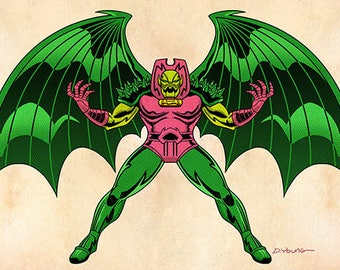 Annihilus, Color, 11 x 17 Print by Darryl Young