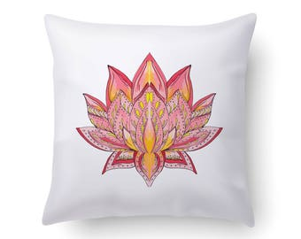 Lotus Flower Home Decor | Lotus Meditation Cushion | Meditation Cushion | Lotus Flower Decor | Lotus Flower | Lotus Flower Decoration |Decor