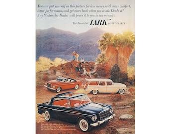 Vintage ad for a 1962 Lark Studebaker - 34