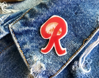 Handmade Seattle Rainier Beer Vitamin R Lapel Pin