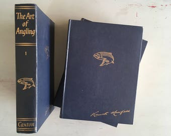 THE ART of ANGLING - 3 volume set