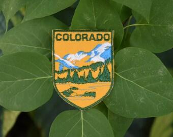 Vintage Colorado Travel Patch