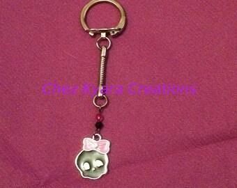 porte clés skull kawai