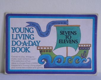 Do-a-Day Craft Book, Young Living, 7 to 11, 1970. Crafts, Art.