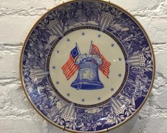 Alvin Limited Edition Bicentennial Commemorative Plate