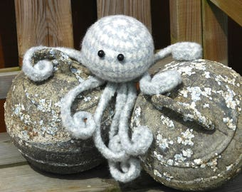 Meet Wyth your new Felted Cephalopod Friend - he will bring eight-legged tentacled super Octopus luck & good fortune into your life!