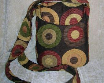 "Versatile small cross-body shoulder strap purse - ""Solica"""