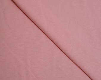 Pink solid Cotton spandex jersey (in multiples of 20cm) fabric