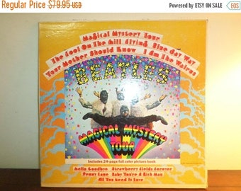 Save 30% Today Vintage 1967 LP Record The Beatles Magical Mystery Tour Stereo Excellent Condition 11850