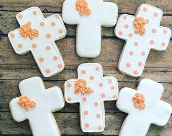 Baptism/ communion/ christeninng  sugar cookies