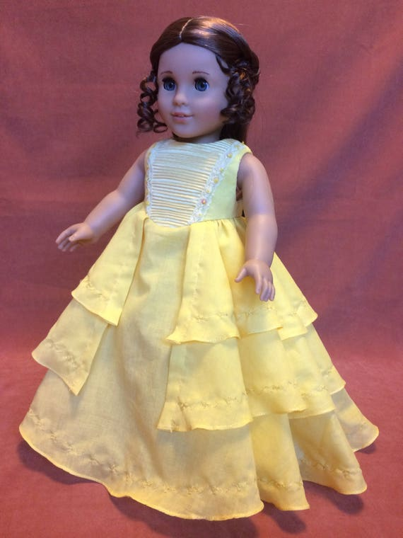 Items similar to Belle Yellow Ball Gown on Etsy