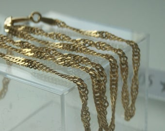 "9ct 375 Gold 16"" Chain"