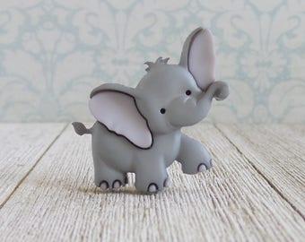 Elephant - Animal - Cute Animals - Strength - Honor - Patience - Lapel Pin