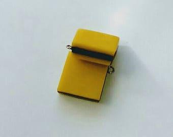 X 1 English candy yellow/black 18mm