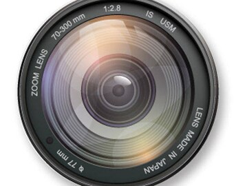 X 1 lens camera metal 25mm Cabochon