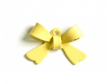 X 1 bow yellow metal light 16mm