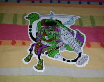 Lex Newtho - Hulk - Marvel Fam - Erman Sticker