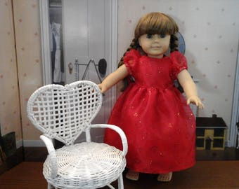 "18"" Valentine's Day dress"