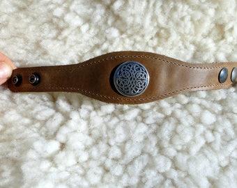 100% jewelry Brown Leather Bracelet