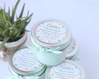40 Mint sugar scrubs//favors//wedding//Babyshower